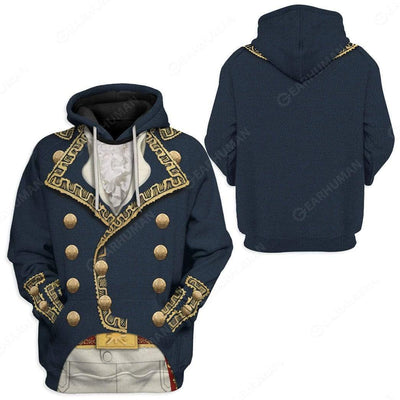 Hoodie Custom Marquis de Lafayette Apparel T101004 3D Custom Fleece Hoodies