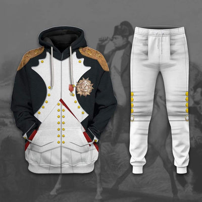 Hoodie Custom Napoleon Bonaparte Apparel T29813 3D Custom Fleece Hoodies
