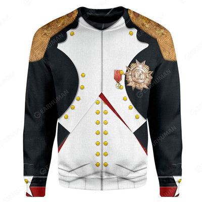 Hoodie Custom Napoleon Bonaparte Apparel T29813 3D Custom Fleece Hoodies Long Sleeve S