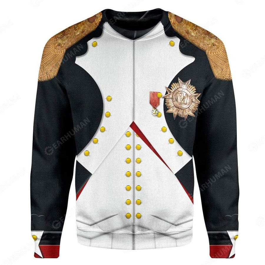 Gearhumans Hoodie Custom Napoleon Bonaparte Apparel