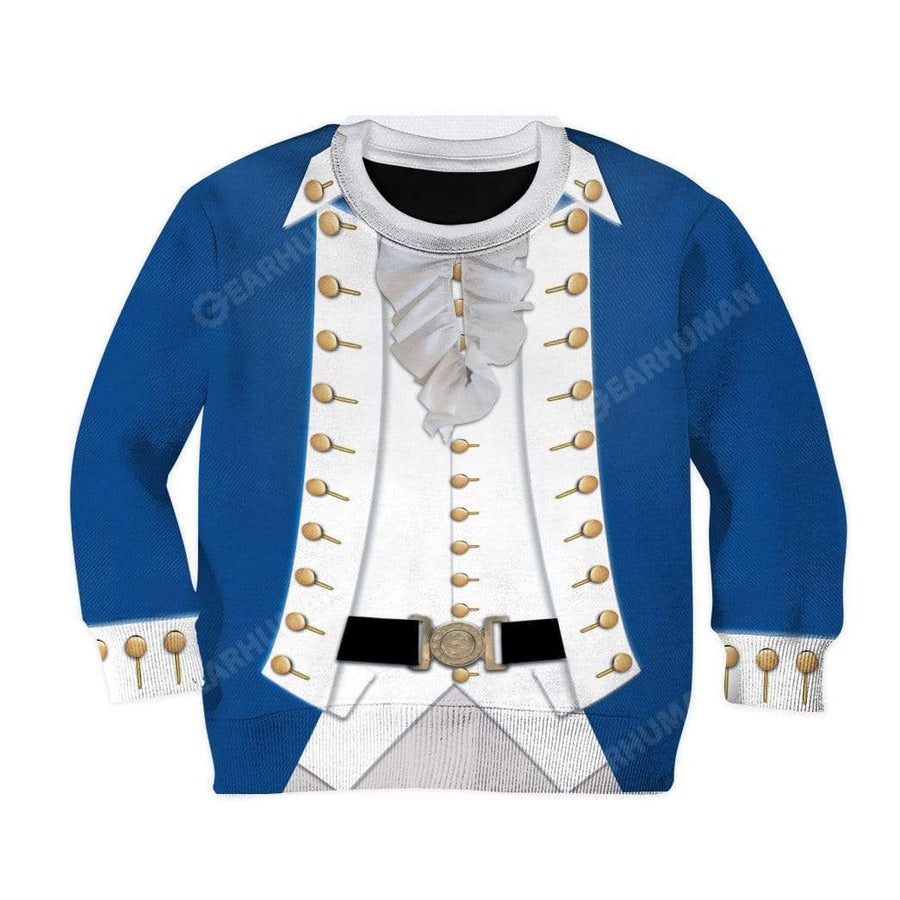 Hoodie Kid Cosplay Alexander Hamilton Custom T-Shirts Hoodies Apparel