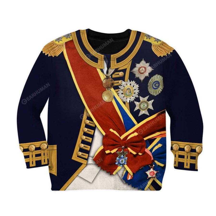 Kid Horatio Nelson Custom T-Shirts Hoodies Apparel