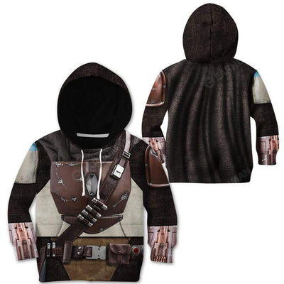 Kid The Mandalorian Custom T-Shirts Hoodies Apparel CO-AT0512192 Kid 3D Apparel