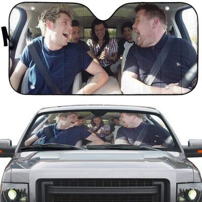 One Direction 10 Years Custom Car Auto Sunshade GN24073 Auto Sunshade