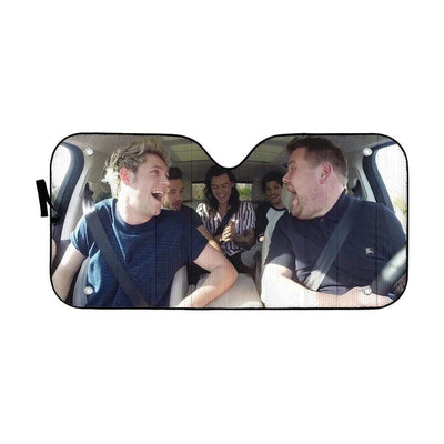 One Direction 10 Years Custom Car Auto Sunshade GN24073 Auto Sunshade 57''x27.5''