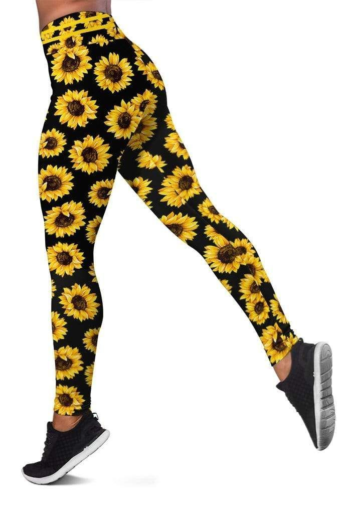 Sunflower Full-print Leggings