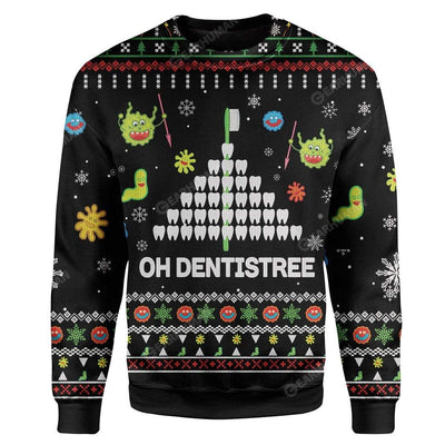 Ugly Dentistree Custom Sweater Apparel HD-TA16111919 Ugly Christmas Sweater Long Sleeve S