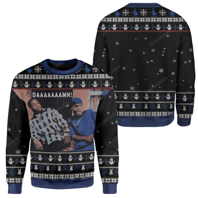 Ugly Friday Damn Custom Sweater Apparel MV-AT2811191 Ugly Christmas Sweater