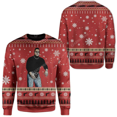 Ugly The Man Custom Sweater Apparel HD-TA14111907 Ugly Christmas Sweater