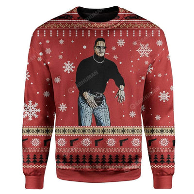 Ugly The Man Custom Sweater Apparel HD-TA14111907 Ugly Christmas Sweater Long Sleeve S