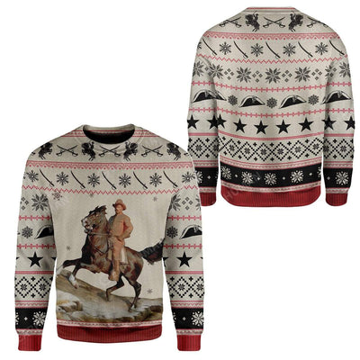 Ugly Theodore Roosevelt Custom Sweater Apparel HD-AT13111920 Ugly Christmas Sweater