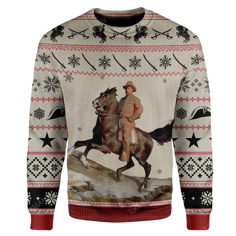 Ugly Theodore Roosevelt Custom Sweater Apparel
