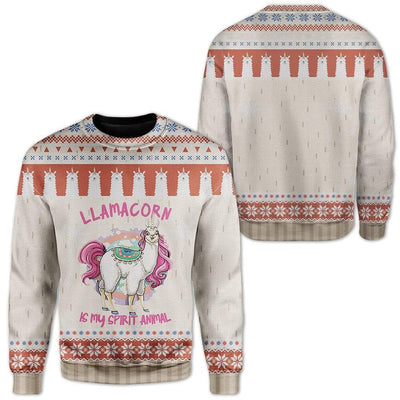 Ugly Unicorn Custom Sweater Apparel HD-DT19111913 Ugly Christmas Sweater