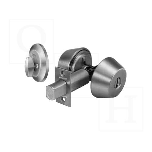 Sargent 484-SC-US26D  Grade 1 Deadbolt, Double Cylinder w/Deadbolt, Schlage Keyway, Satin Chrome