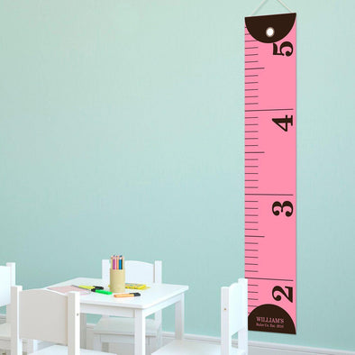 Personalized Ruler Growth Chart for Girls - Height Chart for Girls -  - JDS