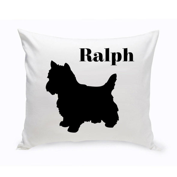Personalized Dog Throw Pillow - YorkshireTerrier - JDS
