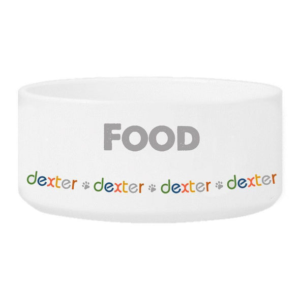 Personalized Ceramic Pet Bowls - Water and Food Bowls - Food - JDS