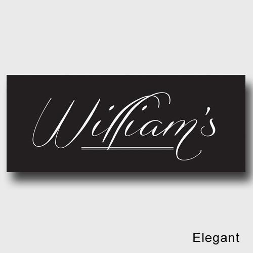 Personalized Family First Canvas Sign - Classic, Elegant, or Script - Elegant - JDS