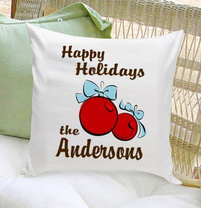 Personalized Holiday Throw Pillows -  - JDS
