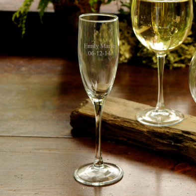 Personalized Toasting Glass -  - JDS