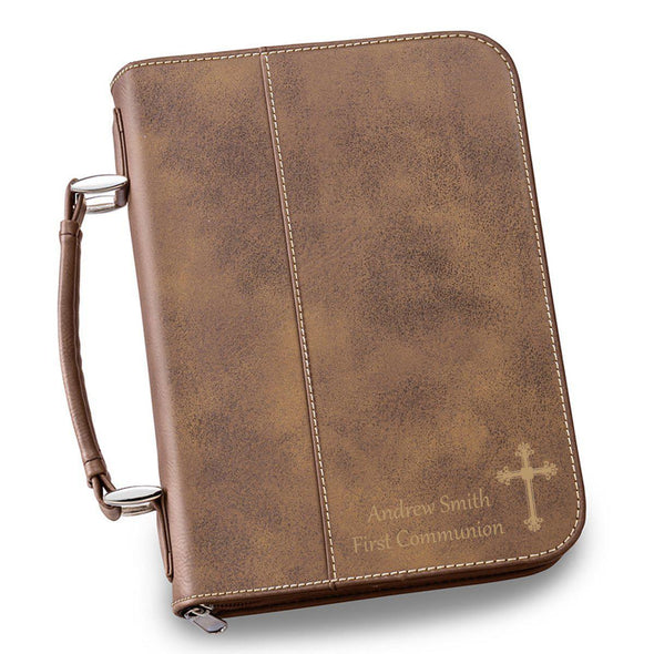 Personalized Small Bible Case - 6 Colors - Rustic - JDS