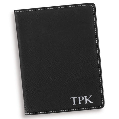 Personalized Black Passport Holder -  - JDS