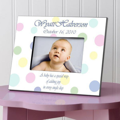 Personalized Children's Frames - Polka Dot -  - JDS