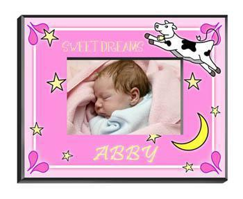 Personalized Little Girl Collection of Children's Picture Frames - All - Cowmoongirl - JDS
