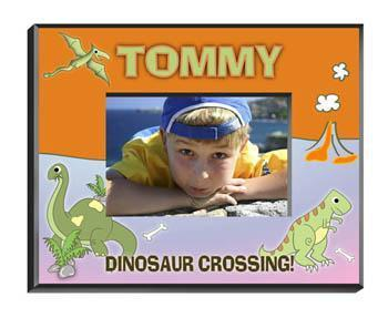 Personalized Little Boy Children's Picture Frames - All - Dinosaur - JDS
