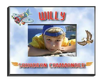 Personalized Little Boy Children's Picture Frames - All - Plane - JDS