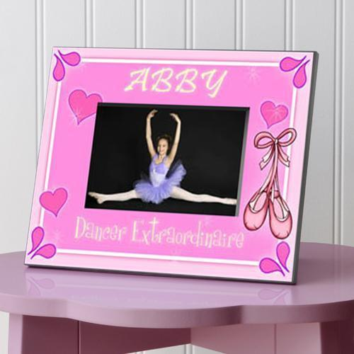 Personalized Little Girl Collection of Children's Picture Frames - All - Dancer - JDS