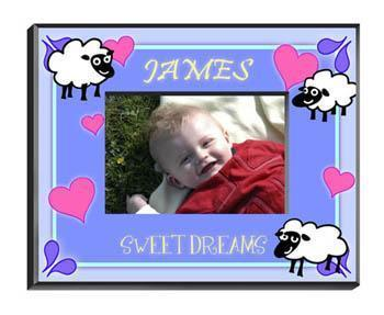 Personalized Little Boy Children's Picture Frames - All - SheepBoy - JDS