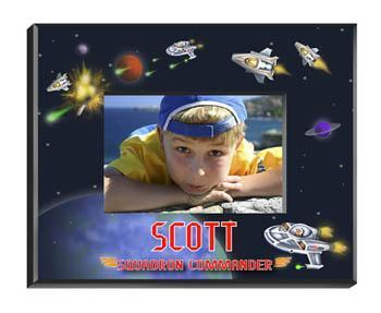 Personalized Little Boy Children's Picture Frames - All - Space - JDS