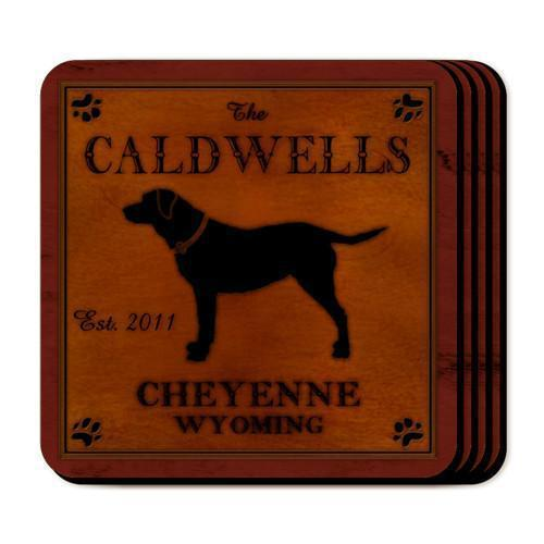 Custom Cabin Series Coasters - Coaster Set 9 Designs - Lab - JDS