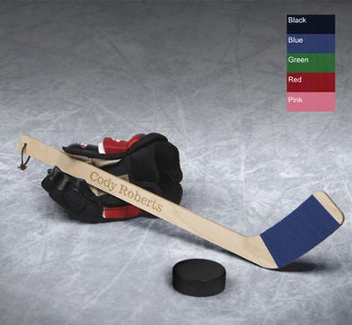 Personalized Mini Hockey Stick - Hat Trick -  - JDS