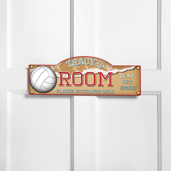 Personalized Kid's Door Signs - Room Sign - Sports Themed Signs -  - JDS