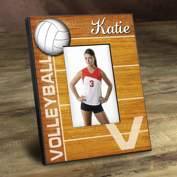 Personalized Picture Frames -  Kids Sports Frame - Volleyball - JDS