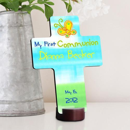 Personalized Bright Blessing First Communion Cross -  - JDS