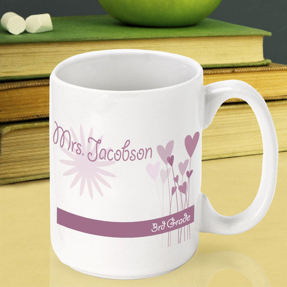Personalized Teacher Coffee Mugs - DelicateDaisy - JDS