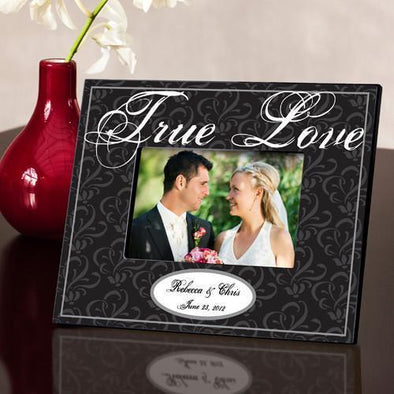 Personalized Couple's Frame - True Black -  - JDS
