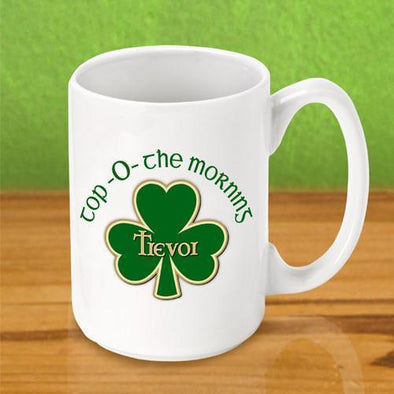 Personalized Irish Themed Coffee Mugs -  - JDS