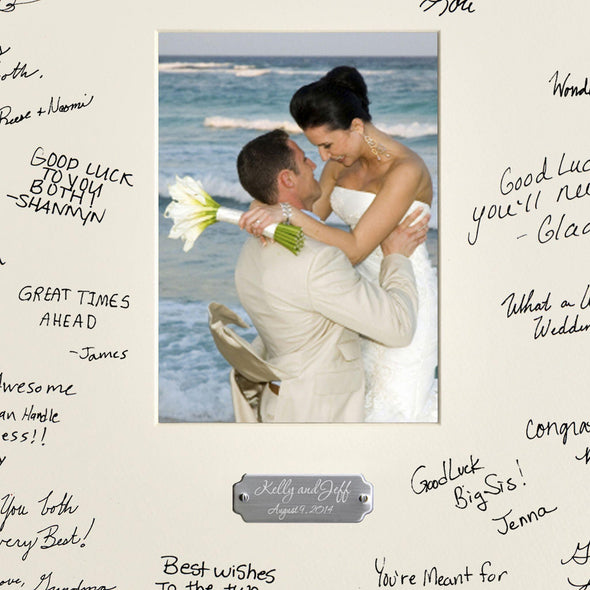 Personalized Wedding Signature Frame -  - JDS