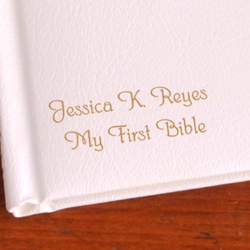 Personalized Illustrated Children's First Bible - Catholic -  - JDS