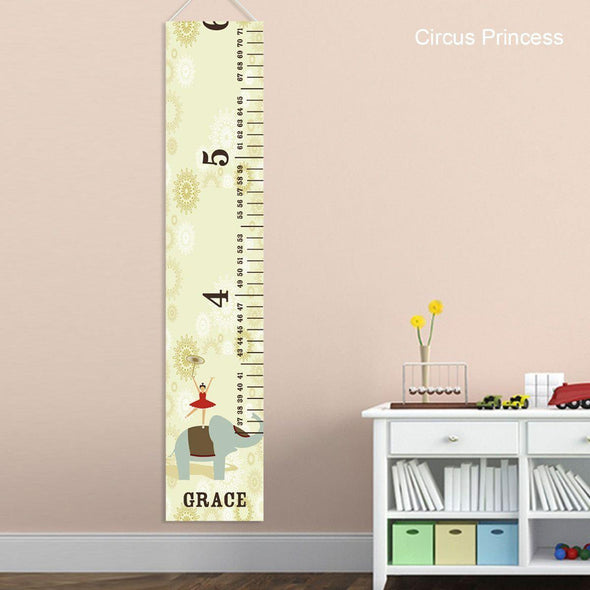 Height Charts for Girls - Growth Chart for Girls - CircusPrincess - JDS