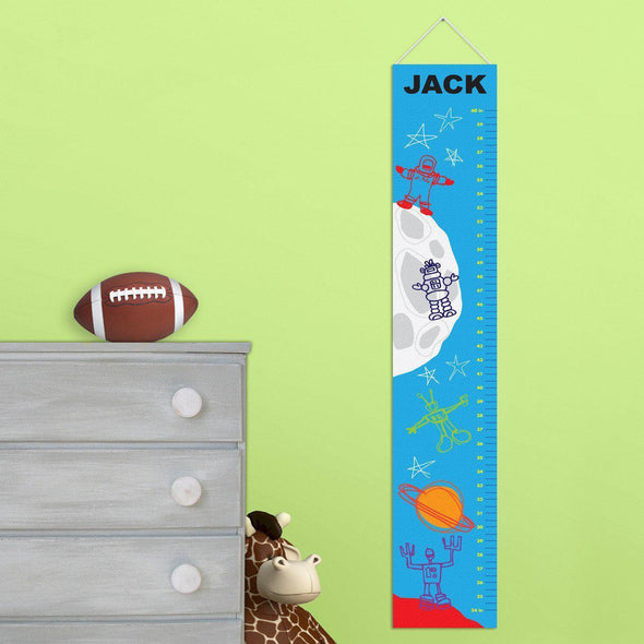 Personalized Growth Chart for Boy's - MartianMan - JDS