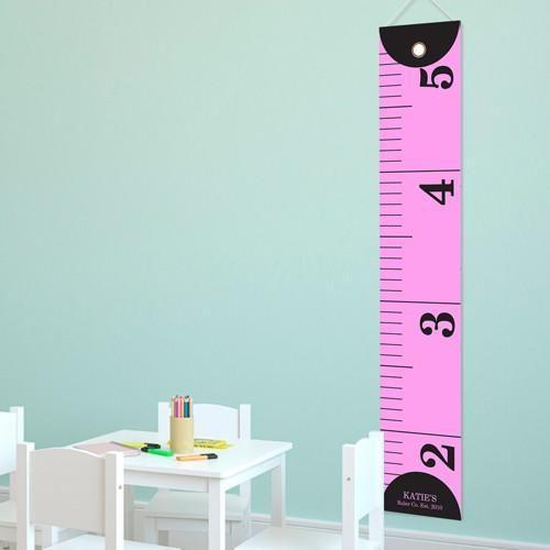 Personalized Growth Chart - Height Chart - Girls - Gifts for Kids - MeasureHer - JDS
