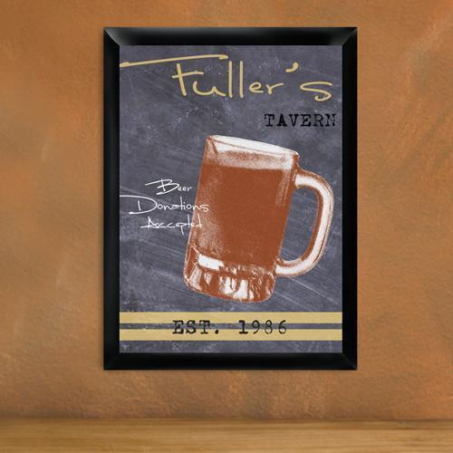 Personalized Traditional Tavern Pub Signs - Mug - JDS
