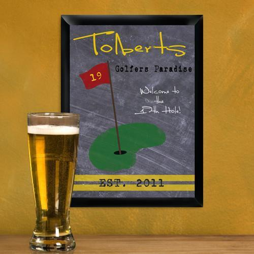 Personalized Traditional Tavern Pub Signs - Golf - JDS