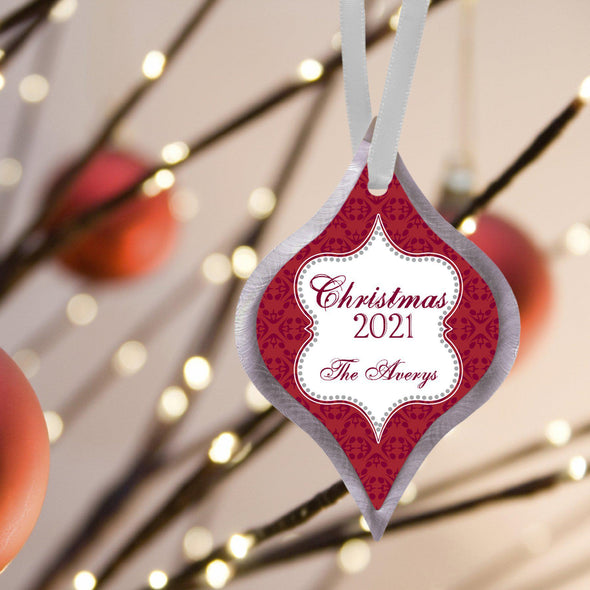 Personalized Elegant Christmas Ornament -  - JDS
