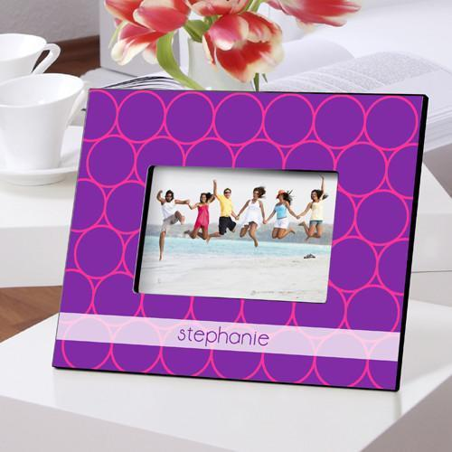 Personalized Color Bright Frames - PurpleFizz - JDS
